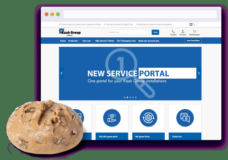 Kaak group Service Portal