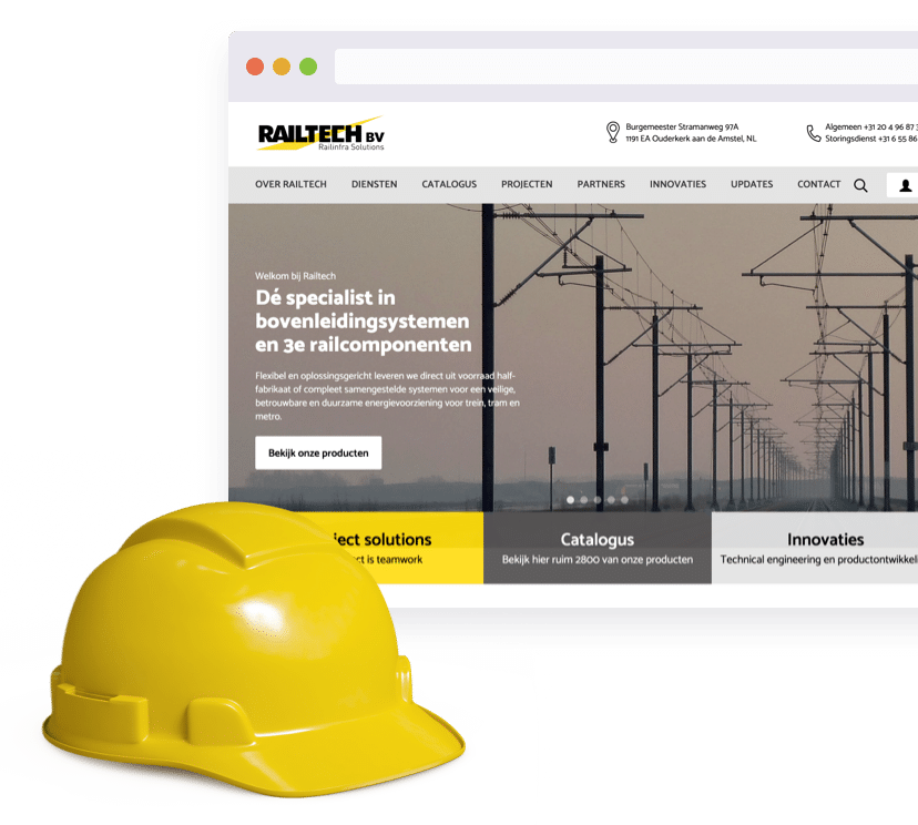 Railtech product mobile