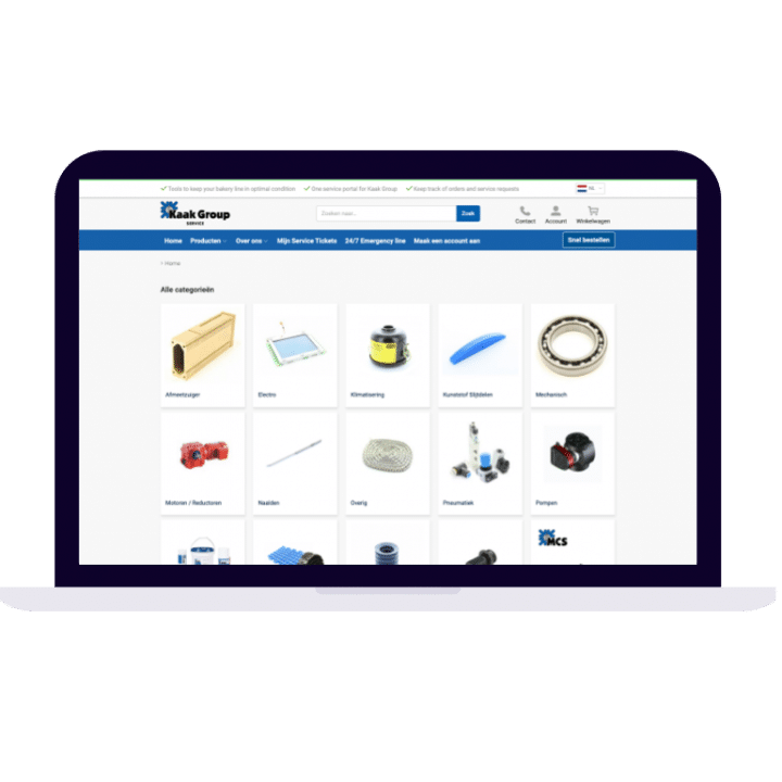 customer specific overview pages