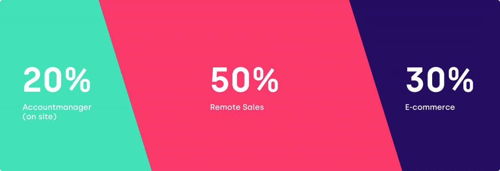 omnichannel sales and remote sales combined with ecommerce