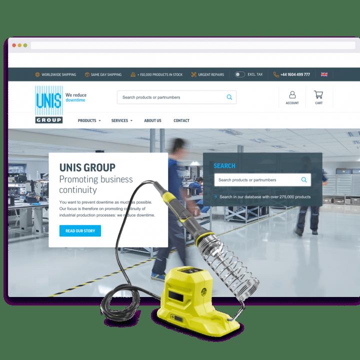 unis group ecommerce platform propeller